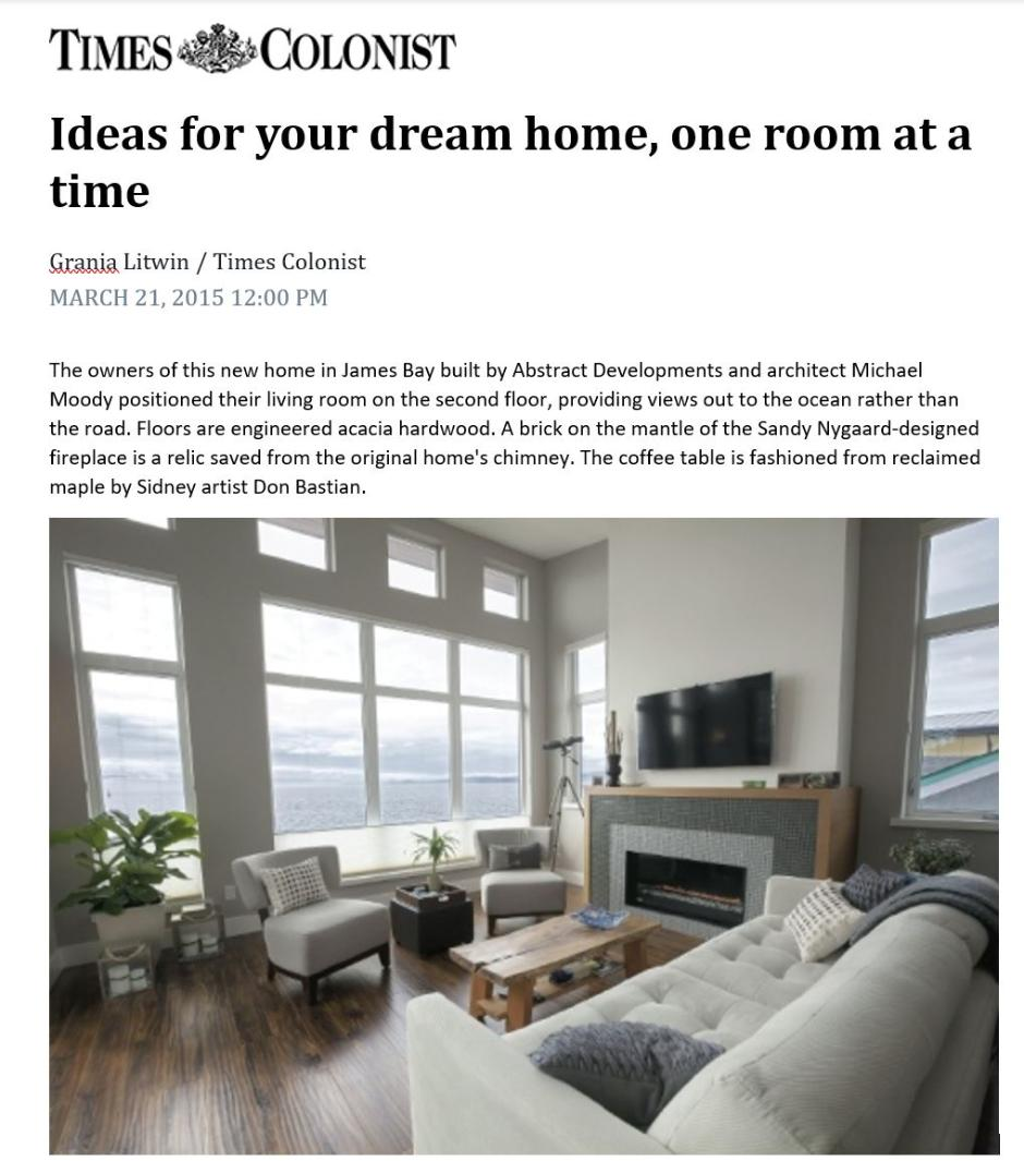Times Colonist Dream Homes
