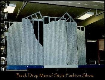 Men of Style Fashion Show Backdrop