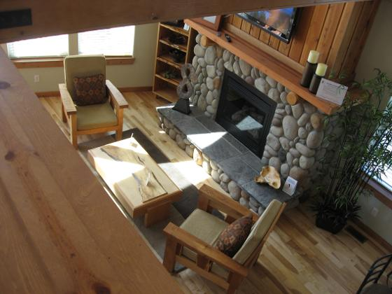 Log House staging