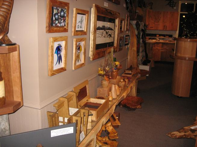 Store Display for West Coast Wood Designs Sidney