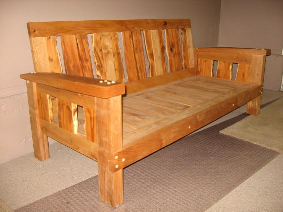 Don Bastian hand made couch