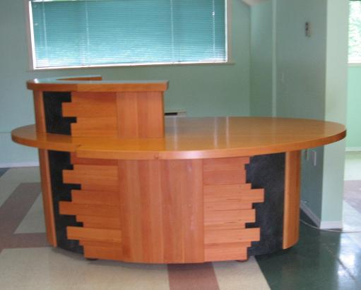 West Shore Chamber of Commerce Reception Desk